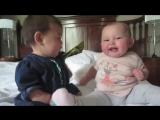 Забавный детский прикол смешно смотерть как эти малыши говор