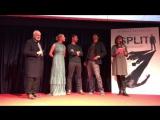 Ecco il video dellincontro con #JamesMcAvoy, M. Night Shyamalan e Anya Taylor-Joy alla proiezione di Split che si è tenuta mart