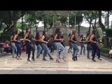 Lucero y Kizomba Woman en el International Kizomba Flashmob Mexico (Lady Style)