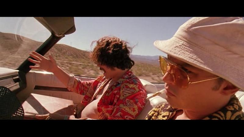 Страх и ненависть в Лас-Вегасе / Fear and Loathing in Las Vegas. 1998 год. США.