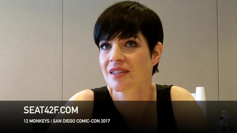 Alisen Down интервью | 12 Обезьян | 12 Monkeys | Interview | Comic Con