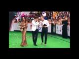Софи Кальчева и Алекс Малиновский на премии МУЗ-ТВ