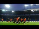 Open training session before the match vs Celta in Kharkiv (22022017)
