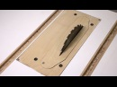 Homemade Table Saw - 4: Removable Insert and Fine-Tuning
