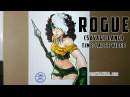 Traditional art - Rogue savage land x16 speed
