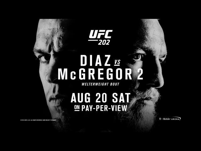 UFC 202 Promo - Diaz vs McGregor 2 - UFC202 DreistStudios
