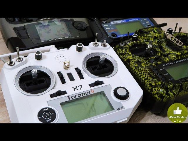 ✔ Короткометражка В ролях Taranis Q X7 FlySky FS i6 RadioLink AT9 Taranis X9D Plus Banggood