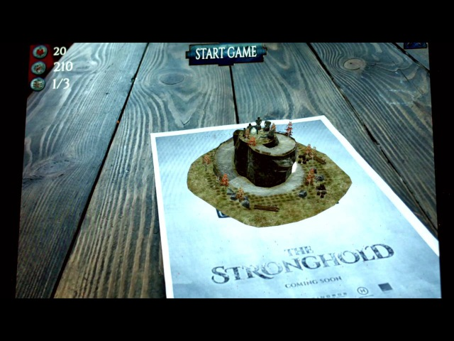 AR игра The Stronghold Defence «Сторожевая Застава Оборона»
