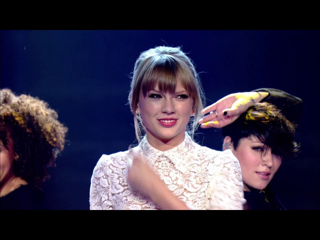 Taylor Swift 22 Let's Dance for Comic Relief 2013