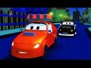 Мультфильм для детей - Авто Патруль пожарная машина и полицейская машина в Авто ...