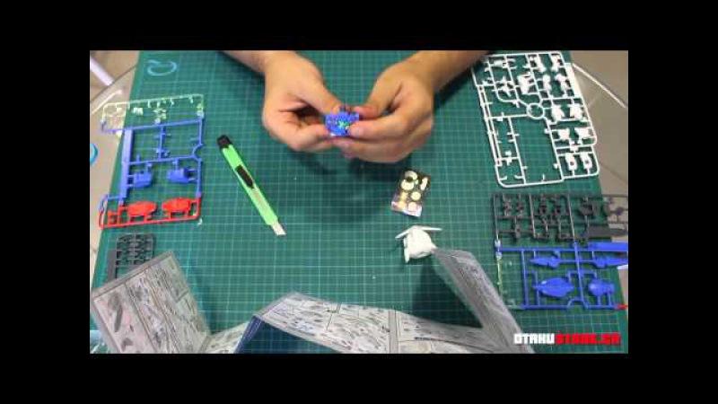 Building a Gunpla Vol. 1 BB Warriors GN-001 EXIA