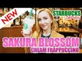Новый напиток со в кусом сакуры в японском Starbacks.