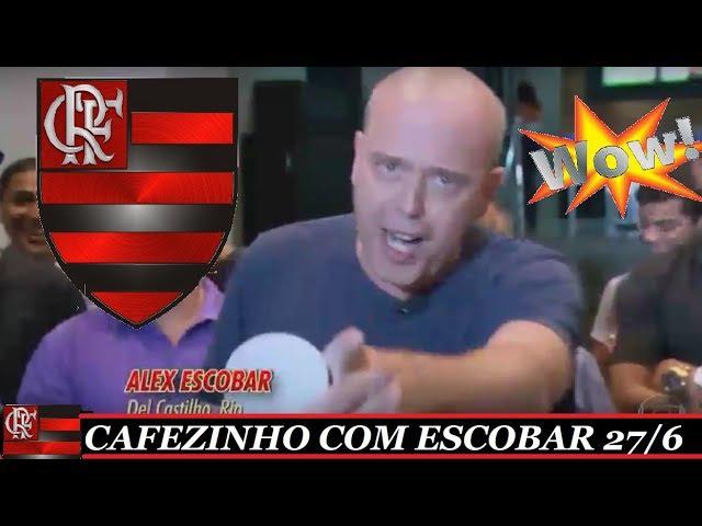 GOL DE BERRIO MARCA PRESENÇA NO CAFEZINHO ESCOBAR FLAMENGO E ETC... GLOBO ESPORTE 27/6