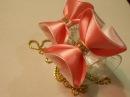 Легкий способ сделать бантик 3D МК/ DIY Make a 3D bow easily25