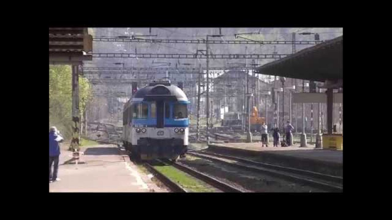 Šocení | Vlaky ve stanici Praha-Vršovice 1.4.2017