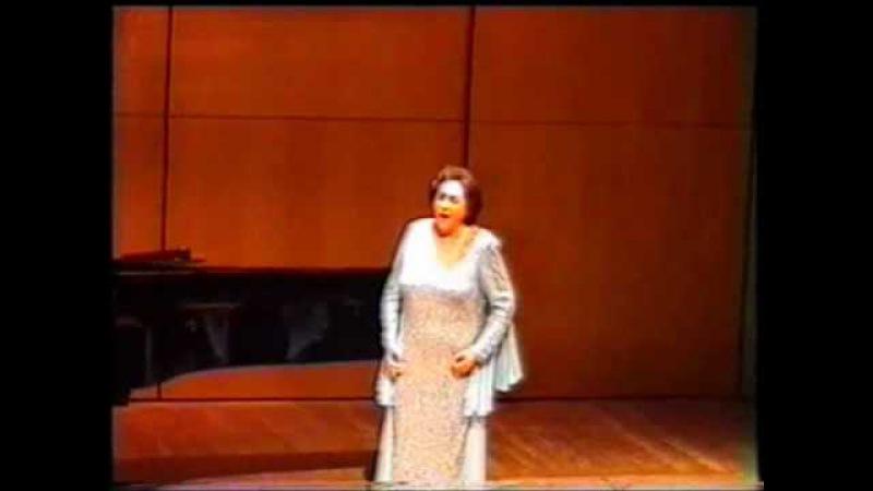 Ghena Dimitrova's Last Recital in Montecarlo 2003 - Poveri fiori - Adriana Lecouvreur