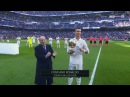 Cristiano Ronaldo Shows Ballon D'Or 2016 to Santiago Bernabeu 07/01/2017 (Real Madrid vs Granada)
