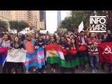 Протесты в США против избрания Дональда Трампа президентом США