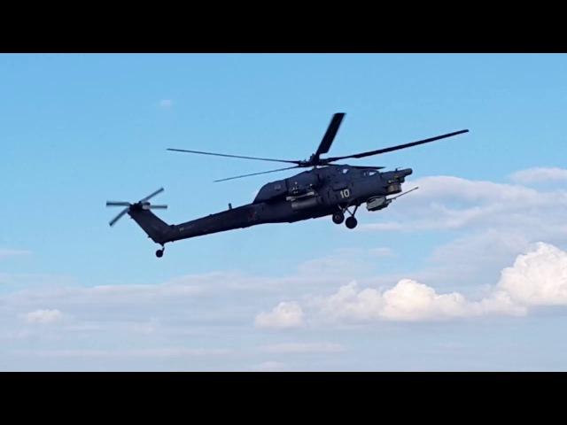 Ударный вертолёт Ми-28 ВКС России