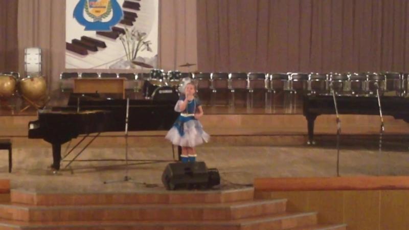 Обласной конкурс в Артемовском музыкальном училище им Карабица 06 02 2016