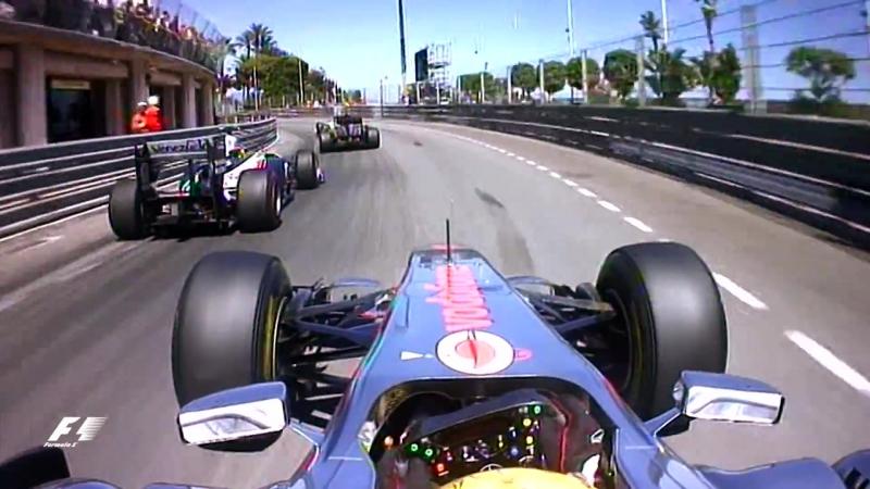 Classic: Гран-При Монако (2011) - OnBoard lap Льюиса Хэмилтона | 720 HD
