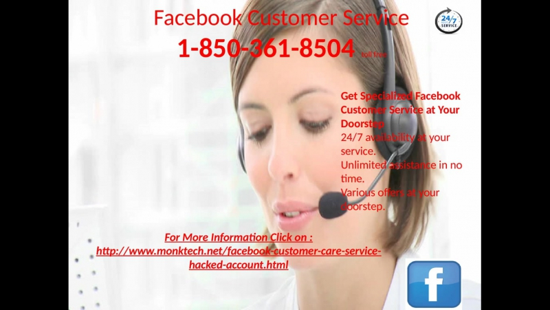 How to exactly employ a Facebook customer service the smart way? Dial 1-850-361-8504
