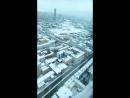 52 этаж.  Небоскреб Высоцкий. Лифт поднимается очень быстро. Обзорная площадка. Вид на Екатеринбург с высоты птичьего полета.