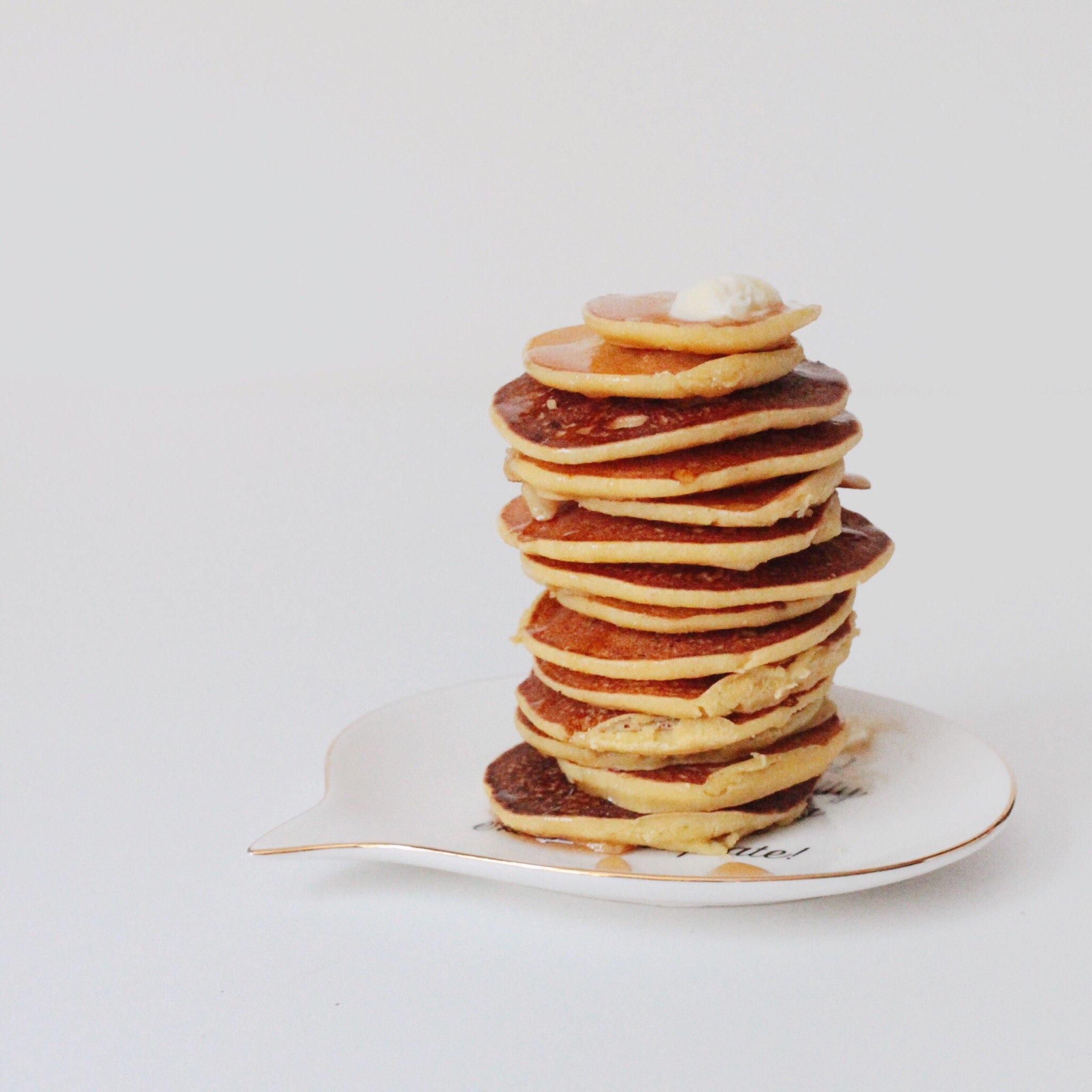 Breakfast Ideas: кукурузные оладьи
