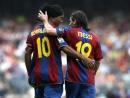 Месси и Роналдиньо♥