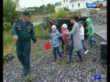Воспитанники детского сада № 174 на несколько часов стали помощниками сотрудников МЧС