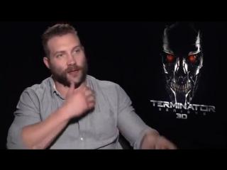 Терминатор Генезис - интервью 6