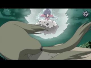 Мадара против 5 Каге / Madara vs 5 Kage (русская озвучка)