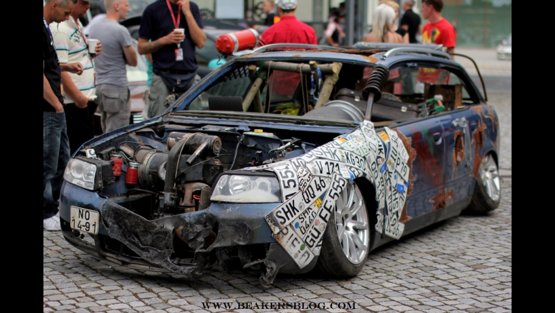 Сумасшедший тюнинг Audi S4