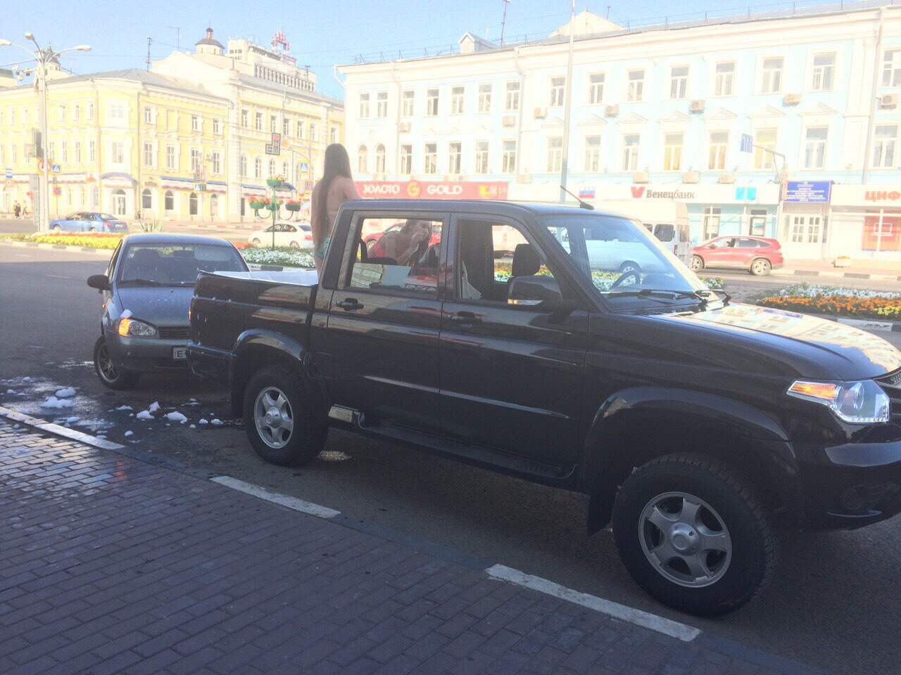 Девушку сбила машина в ульяновске