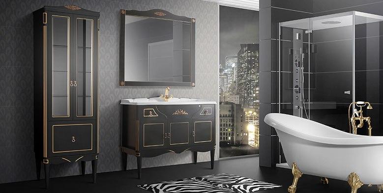 Купить навесные шкафы в ванную комнату в Москве, Московской области