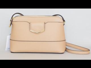 Распаковка и обзор сумки Calvin Klein Saffiano