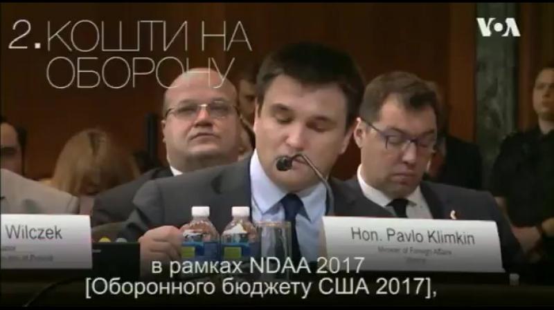 5 ключових вимог України до США озвучених у Сенаті