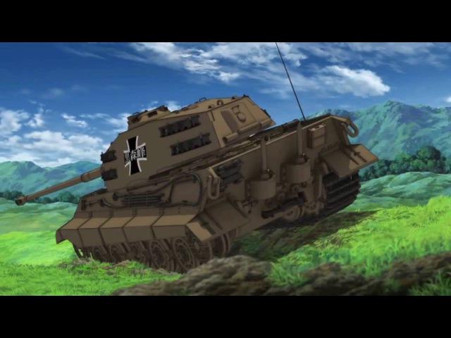Itsumi Erika - Girls und Panzer