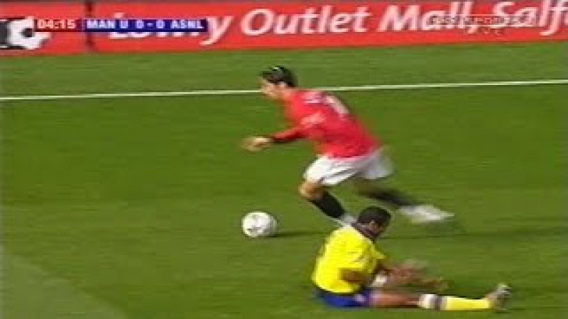 Cristiano Ronaldo Vs Arsenal Home (21092003)