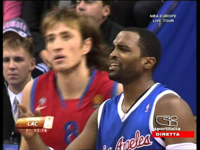 Los Angeles Clippers @ CSKA Moscow 2006 NBA Europe Live Tour FULL GAME