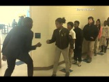 Teacher Has Incredible Handshakes With Each Student ABC News