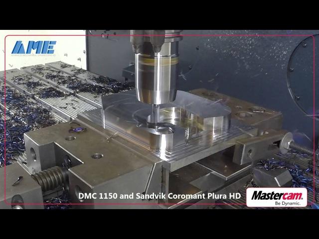 Mastercam Dynamic Motion AME Sandvik