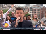 HD Rick Rick Astley Performs on Good Morning Britain  Angels On My Side