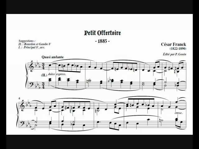 César Franck - Petit offertoire