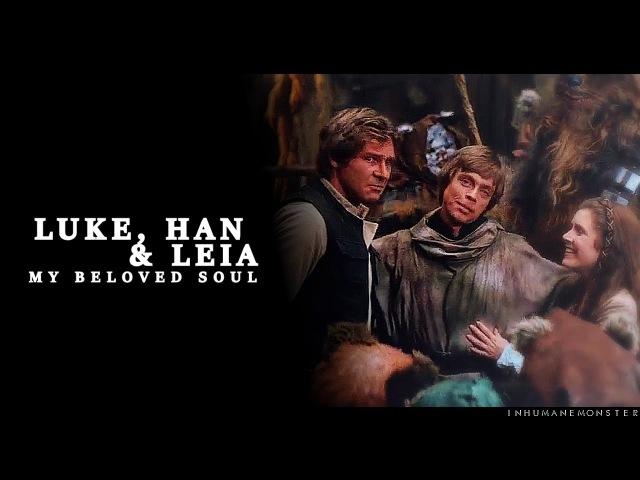 Luke, han leia | my beloved soul