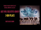 Art Fox Creativ Group | BEST DANCE SHOW | FRAME UP DANCE FEST 2017 [OFFICIAL VIDEO]