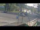 Жёсткое ДТП на Революции - Коммунарский... 21.06.2017 #Бийск