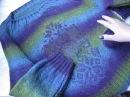 Женский пуловер из Кауни Обзор пряжи Кауни сравнение с пряжей Дундага
