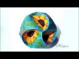 Hattifant - How Fairies make Sunflower Triskele Paper Globes