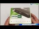 Видео обзор прошивка Open SX1 HD настройка и тест IPTV Open SX1 HD